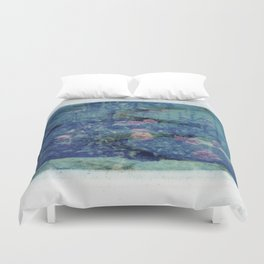 Double Exposed Nature Duvet Cover