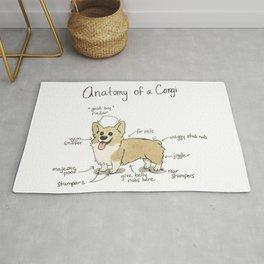 Anatomy of a Corgi Rug
