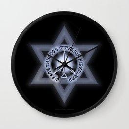 Israel Peace Symbol - 032 Wall Clock