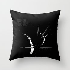 Enceladus rising_ Throw Pillow