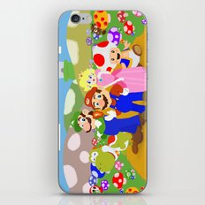 Mario & friends iPhone & iPod Skin