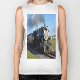 Steam Locomotive Biker Tank