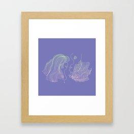 Girl and Girl Framed Art Print