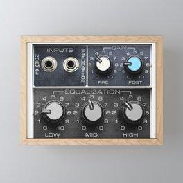 Vintage Sound Control Panel  Framed Mini Art Print