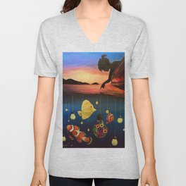 A Dreamers Dream Unisex V-Neck