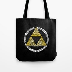 Zelda - triforce circle Tote Bag