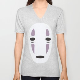 Kaonashi (No-Face) - Spirited Away Unisex V-Neck