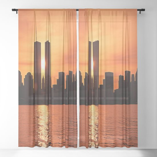Twin Towers Summer Sky by crazytz