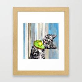Dog Person Framed Art Print