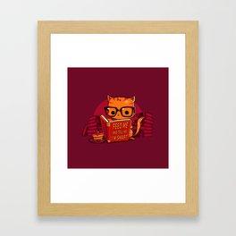 Feed Me And Tell Me I'm Smart Framed Art Print