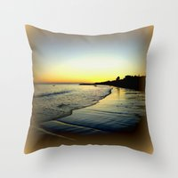 karma Throw Pillows featuring Karma by Chris' Landscape Images & Designs