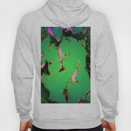 Soft green shatter Hoody