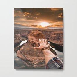 touching the sky Metal Print