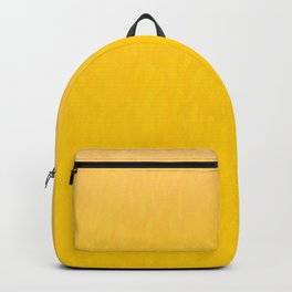 Golden orange and honey yellow ombre flames texture Backpack