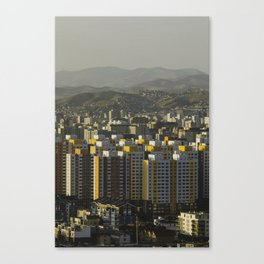 Ulan Bator Skyline Canvas Print