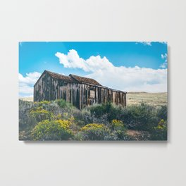 Colorful Day in Bodie Metal Print