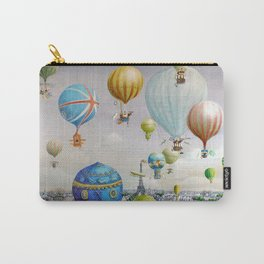 Ballooning over everywhere: Paris Carry-All Pouch