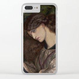 Dante Gabriel Rossetti  -  La Pia De Tolomei Clear iPhone Case