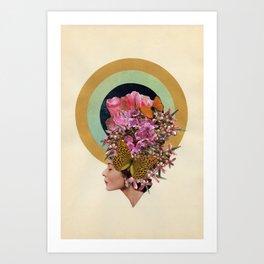 Golden Circle Art Print
