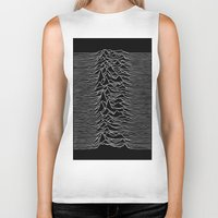 joy division Biker Tanks featuring Joy Division 2 by NoHo