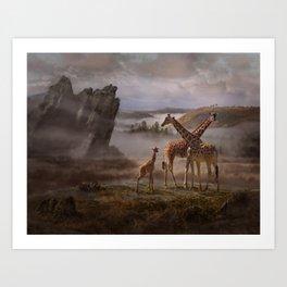The Edge of the Earth Art Print