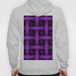 Purple Skull Pattern Hoody