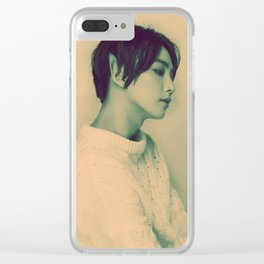 Elf Jeonghan Clear iPhone Case