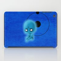 watchmen iPad Cases featuring Chibi Dr. Manhattan by artwaste