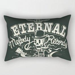 Eternal melody records Rectangular Pillow
