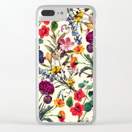 Magical Garden V Clear iPhone Case