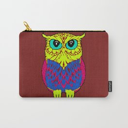 The colourful owl Carry-All Pouch