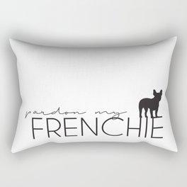 Pardon my frenchie Rectangular Pillow
