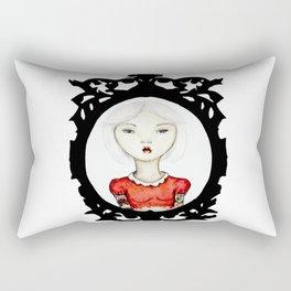 Just a portrait Rectangular Pillow