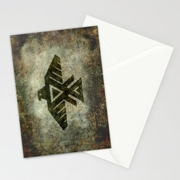 Thunderbird flag - Vintage grungy Stationery Cards