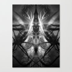 Between the End and Eden Canvas Print