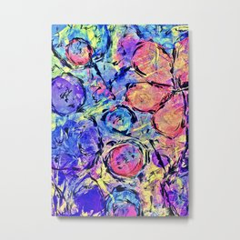 High Frequency Abstract Metal Print