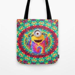 Minion Peace Tote Bag