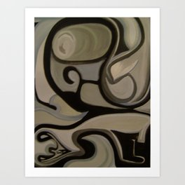 Collab X Art Print