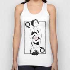 Queen of Hearts Unisex Tank Top