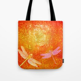 Dragonflies the forgotten clearing Tote Bag