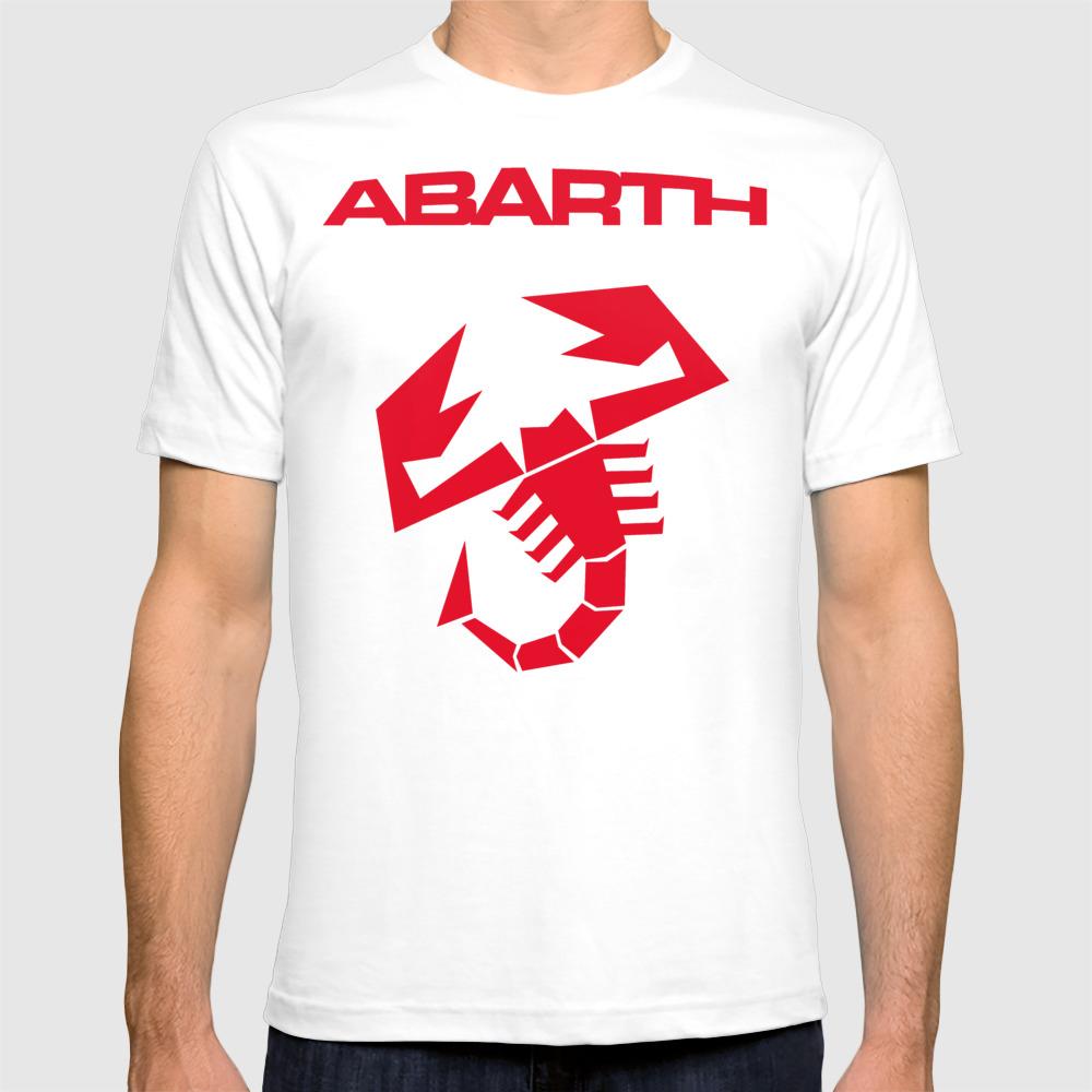 Abarth Scorpion Red T-shirt by Lightsandmusic TSR6838532
