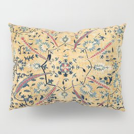 Kermina  Suzani  Antique Uzbekistan Embroidery Pillow Sham