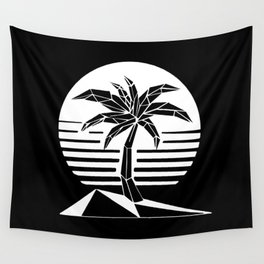 New Retro Palm Wall Tapestry