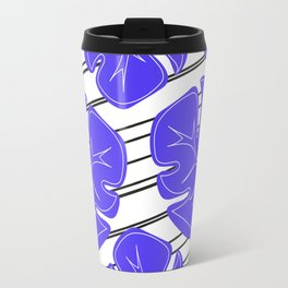 Tropical Love Stripes Travel Mug