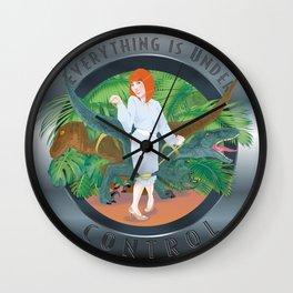 Under Control Wall Clock