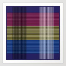 Crossing Color Art Print