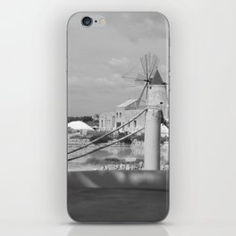 Salt flats in Marsala - Sicily iPhone Skin