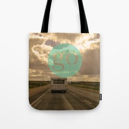 go play Tote Bag