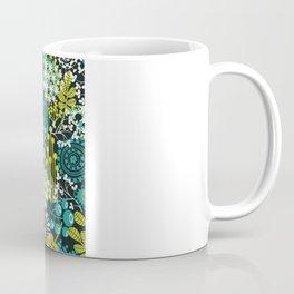 Flowers on the head. Coffee Mug