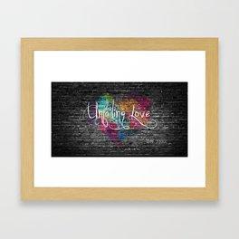 Unfailing Love Framed Art Print